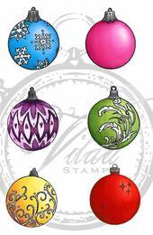 Small christmas balls