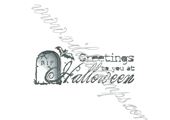 Greetings to you at Halloween