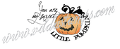 You are my sweet little pumpkin