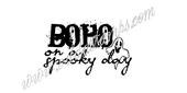 BOHO on a spooky day
