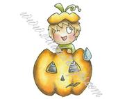 Chibi pumpkin