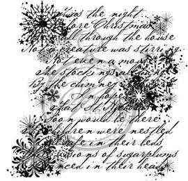Christmascollage, English lyric