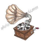 Crank phonograph