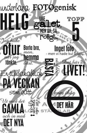 Saris small texts 1 A6 (Swedish)