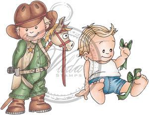 Cowboy & boy