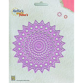 Nellies Multi Frame Die - Stars Circle