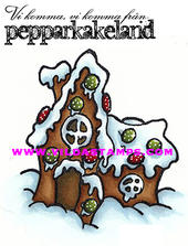 Gingerbread house/ We come from gingerbread land (Swedish)