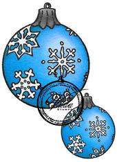 Christmas ball snowflake large and small