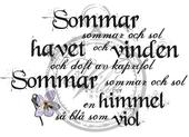 Summer, summer and sun...(Swedish)