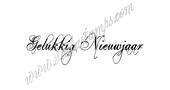 """""""Happy New Year"""" (Dutch)"""