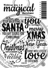 English  Christmas Lyrics (A6-kit)