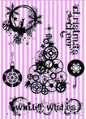 Steampunk christmas with english lyrics 1 A6-kit