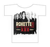 ROXETTE - T-SHRT, XXX PHOTO WHITE (2014)