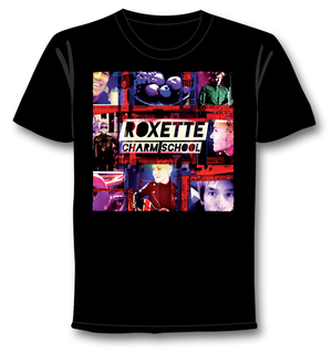 ROXETTE - T-SHIRT, CHARM SCHOOL