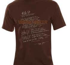 TOMAS LEDIN - T-SHIRT, VÄGRA VINTER (BROWN)