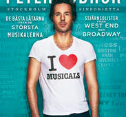PETER JÖBACK - PROGRAM, I LOVE MUSICALS 2012
