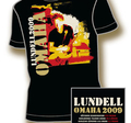 ULF LUNDELL - T-SHIRT, OMAHA TOUR -09