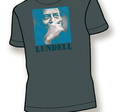 ULF LUNDELL - T-SHIRT, GREY -09