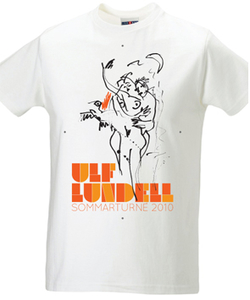 ULF LUNDELL - T-SHIRT, KONST VIT -10