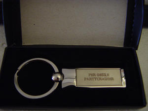 PER GESSLE - KEY-RING