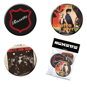 ROXETTE - PIN-PACK (3 PINS)