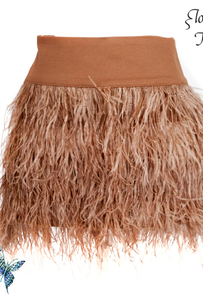 Heather Feather Skirt