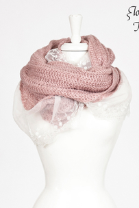 Tube Scarf Lace