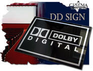 Dolby Digital Acrylic sign