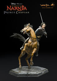 Narnia: Prince Caspian - Caspian &amp; Steed Statue
