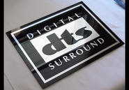 DTS  Acrylic sign