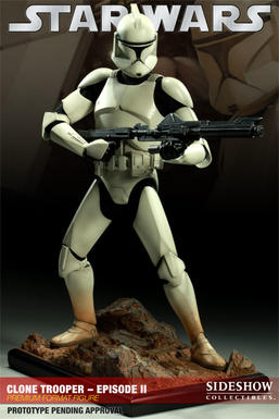 Clone Trooper - Episode II Premium Format Figure