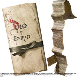 The Hobbit: Bilbo's Deed of Contract by Noble