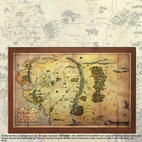 The Hobbit: The Map of Middle Earth by Noble