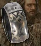 The Hobbit: Thorin Silver Ring size 12 by Noble