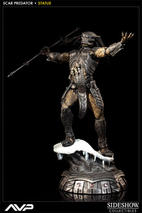 Alien VS Predator: Scar Predator Statue 1:5