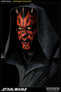 Darth Maul Legendary scale bust