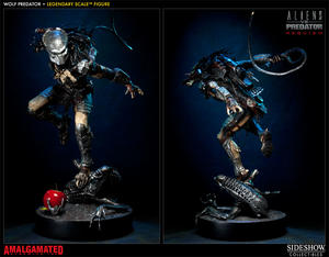 Wolf Predator Legendary Scale Figure