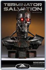 Terminator Salvation T-600 Life-Size Bust 1:1