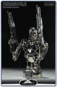 Terminator T-800 Endoskeleton Bust 27&quot; Scale 1:2