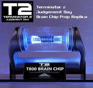 T-800 Brain Chip Light-Up Replica