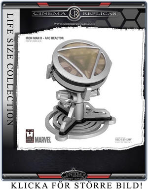 Iron Man 2: Tony Stark Arc Reactor Prop Replica