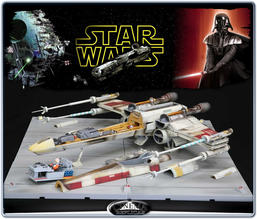 Star Wars ARTFX Crossection 3-D X-Wing Set
