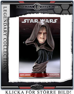 Darth Sidious Legendary Scale Bust