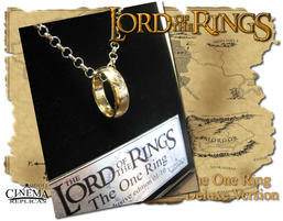 The One ring inkl. kedja Deluxe Version with display.