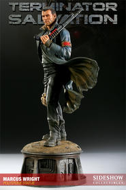 Terminator Salvation Marcus Wright Statue