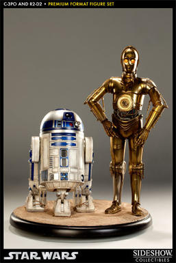 C-3PO and R2-D2 Premium Format Figure Set