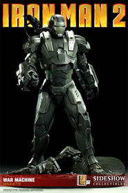 Iron Man 2 War Machine Maquette