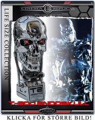 Endoskeleton Endoskull Life-Size Bust CLEAN version