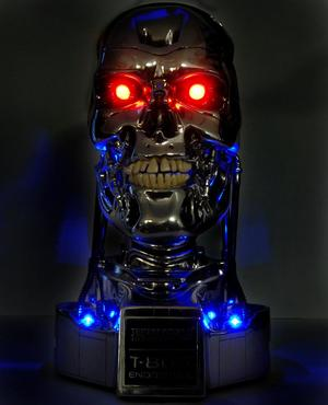Terminator 2 Endoskull Battle Damage Version