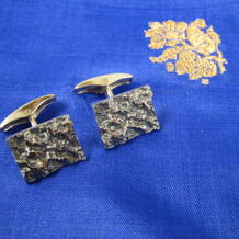 Manchettknappar i silver